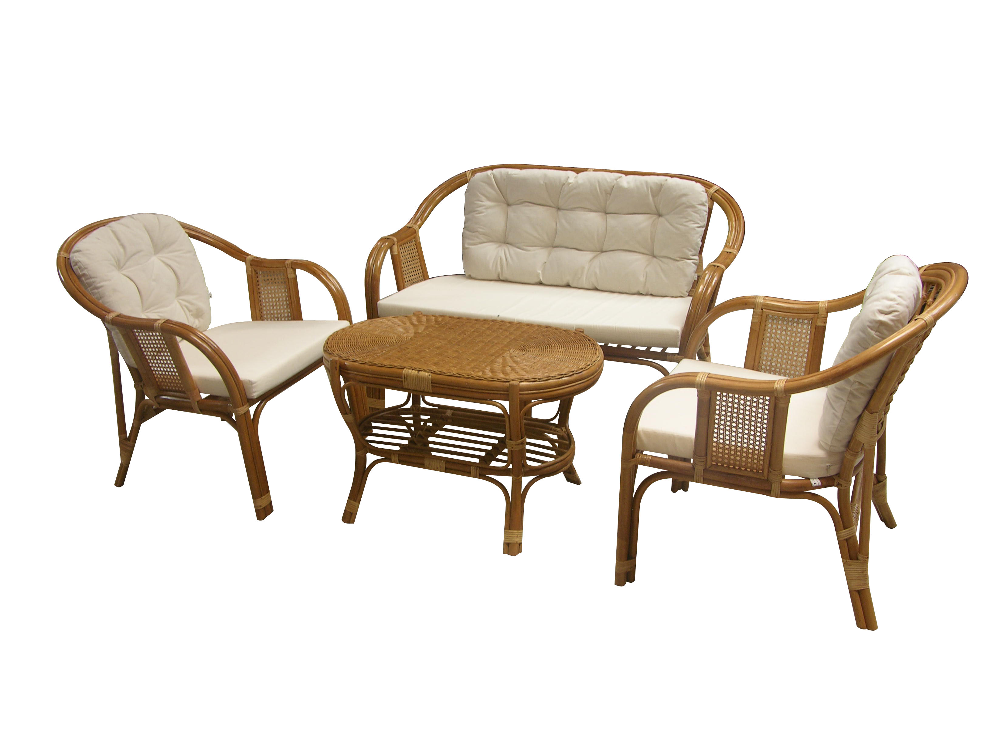 Prima Set on Water Hyacinth Chair
